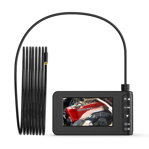 Inskam129 Semi-rigid cable 8mm Industrial Inspection Camera 4.3 inch LCD Handheld Digital Endoscope Camera
