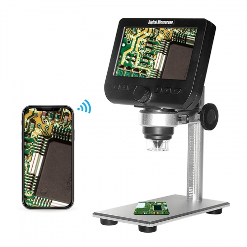 Inskam 317 2MP 1000X LCD&WIFI Microscope  support capturing pictures with 8 LED light